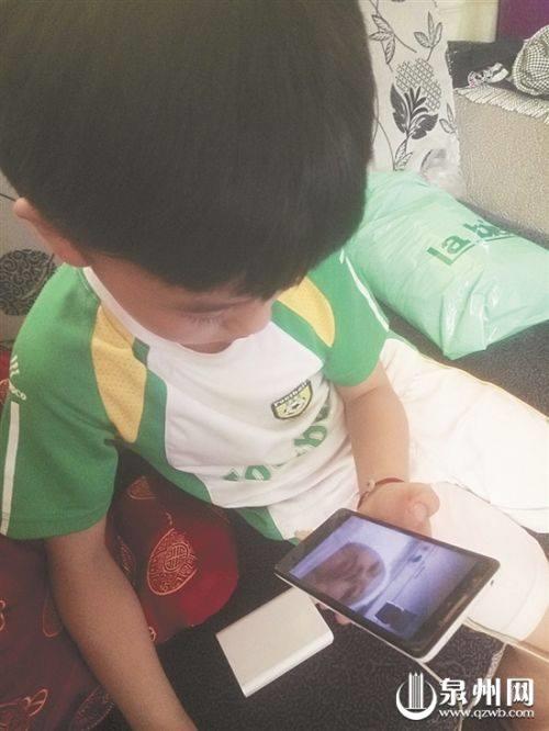 Cậu bé Chen đúng là niềm tự hào của cả gia đình.