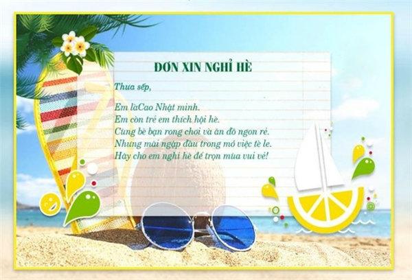 """Lời thú tội """"ngọt ngào"""" về đam mê ăn uống và mong muốn chơi hè của Nhật Minh đã khiến sếp động lòng."""