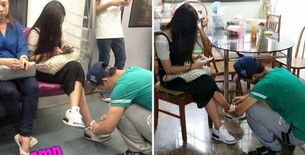 Buộc dây giày cho vợ không phải việc xấu hổ, đó là cả niềm tự hào!