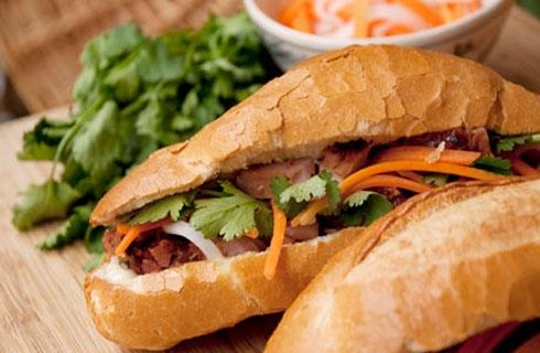 Những món ăn đường phố nổi tiếng của Việt Nam.(Ảnh: Internet)