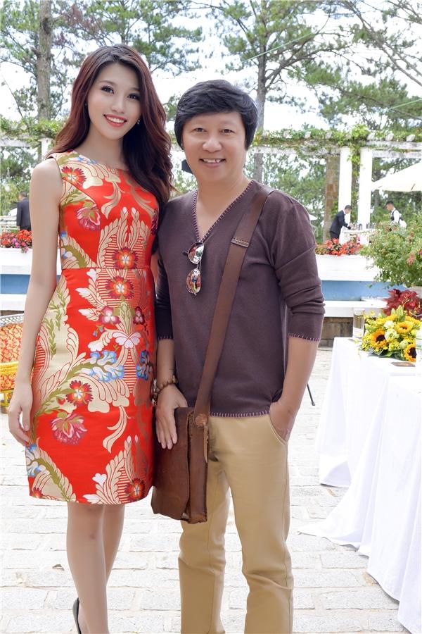 Quỳnh Châu và nhà thiết kế Sỹ Hoàng