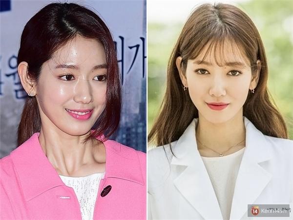 Từ trước đến nay, Park Shin Hye cũng đã khá nhiều lần để tóc mái rồi lại nuôi dài. Khi để tóc mái, nữ diễn viên trông hết sức baby, ngây thơ còn khi không để mái, ở cô lại toát lên vẻ chín chắn, trưởng thành và sang trọng.