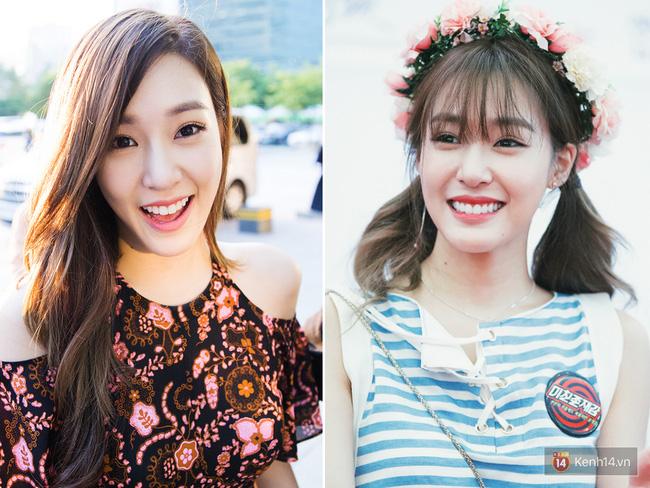 Tiffany cũng được các fan nhận xét là xinh hơn hẳn khi để tóc mái bởi nó giúp tôn lên đôi mắt biết cười to tròn, long lanh trứ danh của cô.