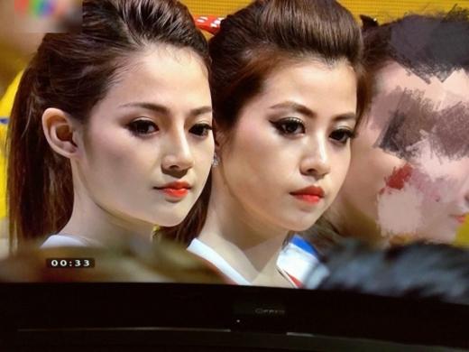 Cô nàng Vân Anh cũng gây bão mạng xã hội 24h qua bởi ngoại hình xinh xắn.