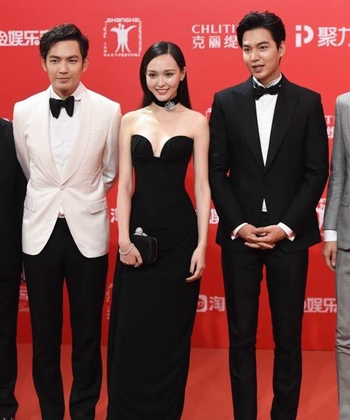 Xuất hiện thoáng qua, không giao lưu nên nhiều nghệ sĩ trẻ như Lee Min Ho không tạo được dấu ấn nổi bật. Ảnh: QQ.