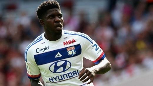 Samuel Umtiti đang thi đấu khá ấn tượng trong màu áo Lyon