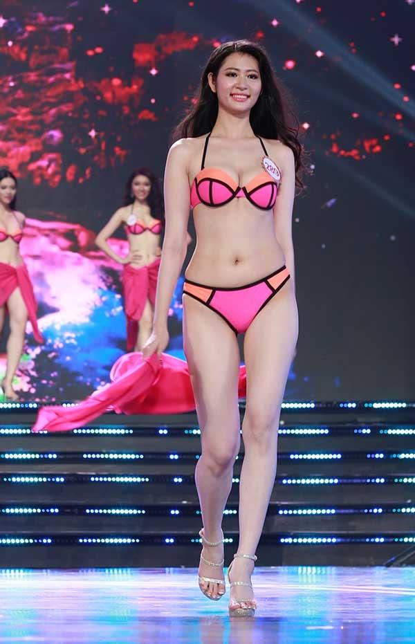 Bikini phần thi luôn được mong chờ nhất tại các cuộc thi hoa hậu.