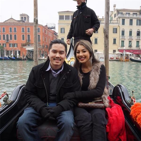 Jacqueline và bạn trai trong chuyến du lịch tại Ý mới đây. - Tin sao Viet - Tin tuc sao Viet - Scandal sao Viet - Tin tuc cua Sao - Tin cua Sao