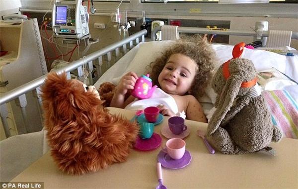 Giờ đây Jazmyn đang dần hồi phục mặc dù vẫn bịđau chân và có một số dây thần kinh bị ảnh hưởng.