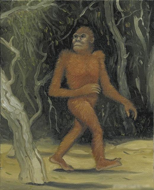 Agogwe được cho rằng làmột trong những tổ tiên còn sót lại của nhân loại. (Ảnh: Internet)