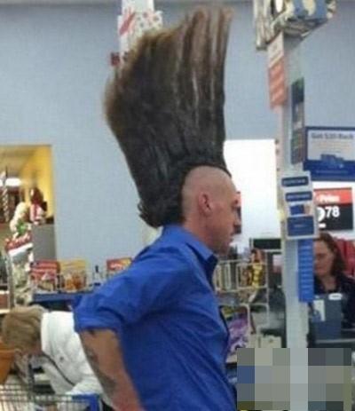 Nhờ tóc mà chiều cao được tăng lên đáng kể. (Ảnh: Internet)