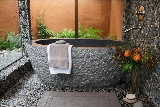 Ofuro luôn phải được giữ sạch sẽ, không được dây bẩn các loại nước xà bông, nước bẩn…(Ảnh: Internet)