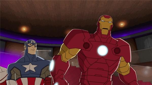 Bước tiến cuối cùng, Tony đã hoàn toàn hợp nhất cùng bộ giáp siêu đẳng.