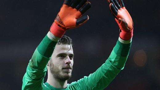 De Gea cam kết gắn bó với Manchester United