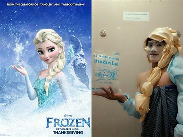 Nhan sắc Elsa nay còn đâu?!