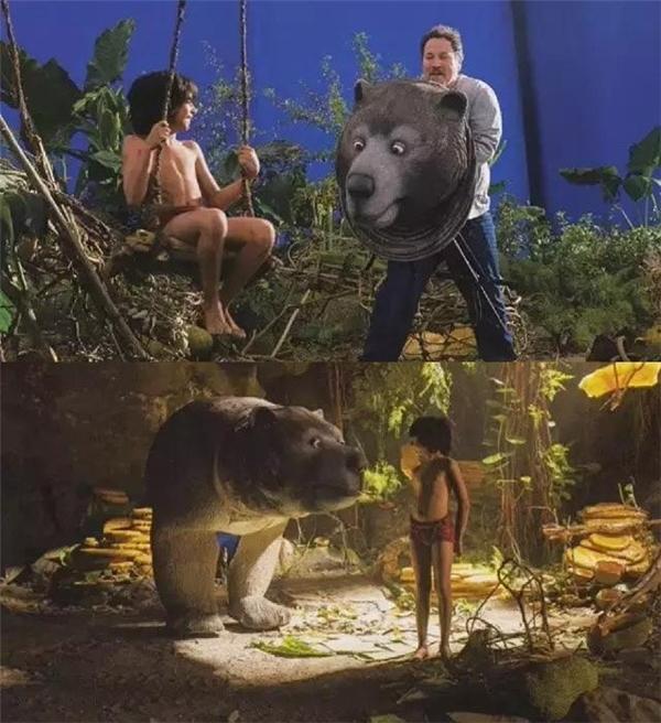 Các loài động vật trong phim thực tếchỉ là mô hình.