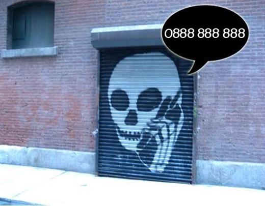 """""""Số điện thoại tử thần"""" 0888888888. (Ảnh: Internet)"""