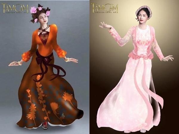 """Mặc dù nhận nhiều lời khen từ màu sắc, họa tiết nhưng vẫn có ý kiến cho rằng trang phục của """"Tấm, Cám chuyện chưa kể"""" không thuần Việt và không phản ánh đúng nét văn hóa của người Việt Nam trong thời xa xưa."""