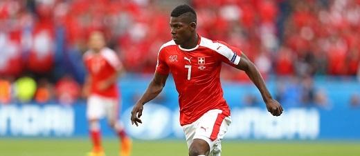 Breel Embolo đang thi đấu khá ấn tượng trong màu áo tuyển Thụy Sĩ