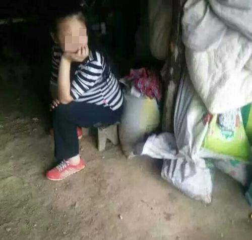 Cô gái 15 tuổi này đang mang thai ở tháng thứ 8. Ảnh: Internet