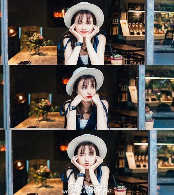 Trương Tá Tá là cô nàng được follow với mộtlượng lớn người hâm mộ vì sự đáng yêu của cô.