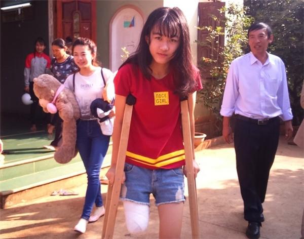 Nữ sinh Lê Thị Hà Vi. Ảnh: M. Q