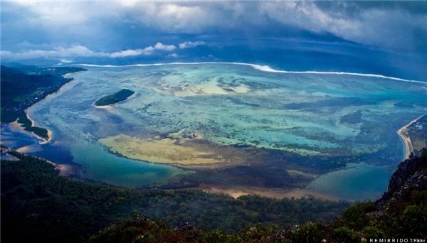 Cảnh quan đẹp mê hồn ở Mauritius.(Ảnh: Flickr, Getty Images)