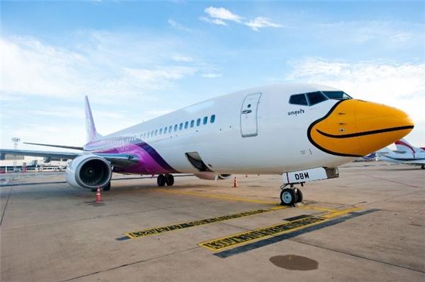 Ở Thái Lan cóhãng hàng khônggiá rẻ nhưng dịch vụ trên máy bay khá tốt, có phục vụ thức ăn nhẹ.(Ảnh: Internet)