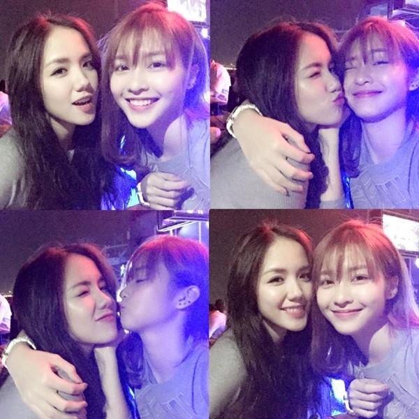 Bộ ba hot girl xinh đẹp của Sài thành.(Ảnh: Internet)