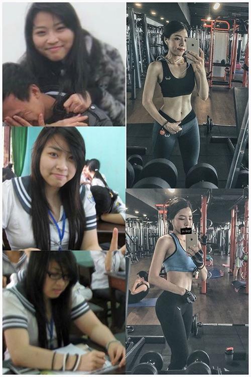 """Hình ảnh """"Trước - Sau"""" thay đổi bất ngờ của cô gái"""