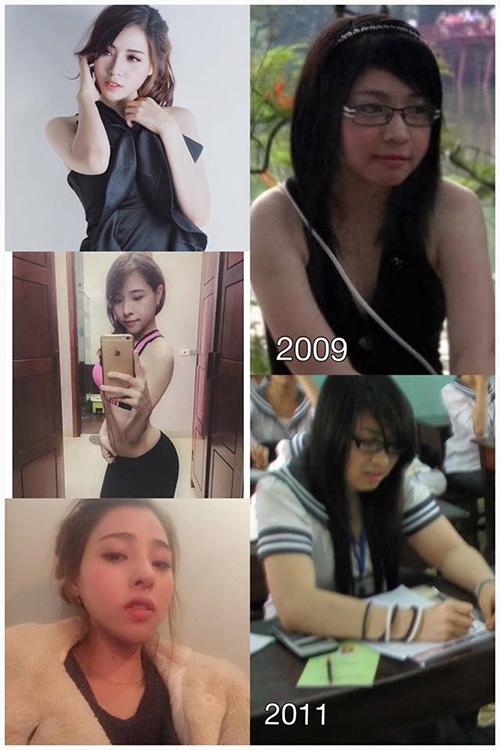 Sự thay đổi của Bích Hạnh theo từng năm