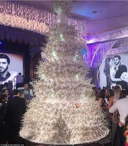 Lễ cưới có sự tham dự của hơn 500 khách mời, chủ yếu là những người giàu có bậc nhất ở Nga. Tổng thống Armenia Serzh Sargisyanu cũng tới để chung vui cùng gia đình tỉ phú.