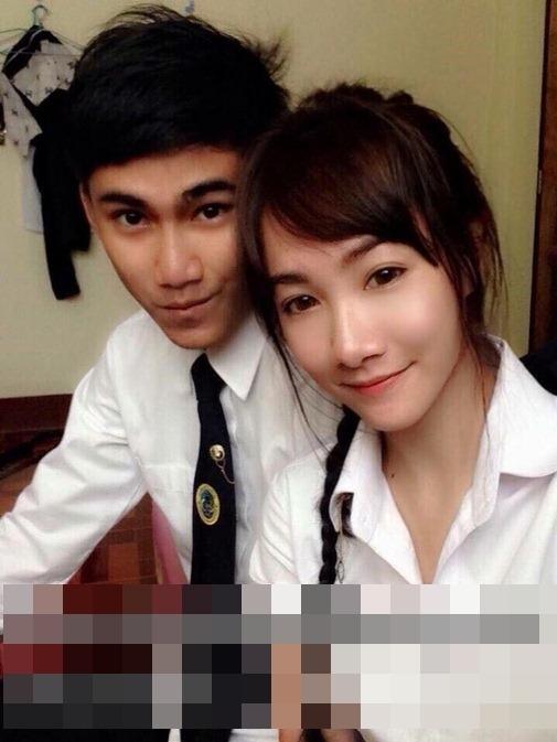 Nếu là một người trong cộng đồng teen Thái Lan, chắc hẳn không ai là không biết đến chuyện tình nổi tiếng của cặp đôiKanruthai Jaipin và Puttimuk Baramek sống tại Amphoe Muang Chiang Mai, Chiang Mai nước này. (Ảnh: Internet)