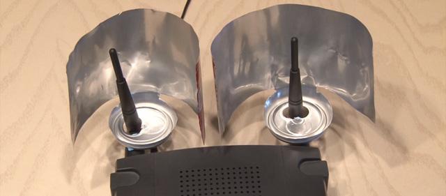 Chỉ cần 1 chiếc vỏ lon và 1 phút chế tác, sóng Wifi nhà bạn sẽ tăng thêm 2 vạch