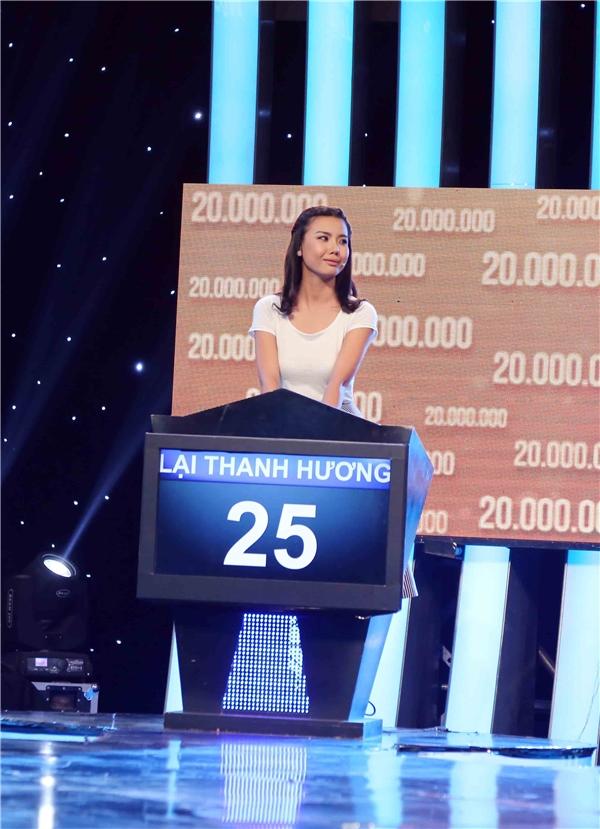 Tuy nhiên, kết quả cuối cùngLại Thanh Hương chỉ mang về được 4 triệu đồng, trong khi đó Vũ Mạnh Hiệp tay trắng.