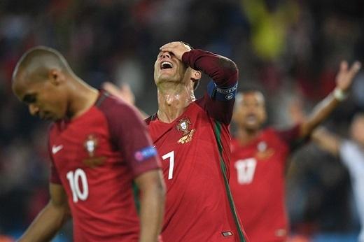 Hôm nay không phải ngày của Ronaldo.