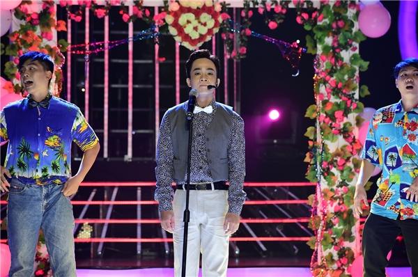 Duy Nam cho biết anh thật sự rất vui vì đã bấm chọn được Phan Mạnh Quỳnh vì rất tò mò về người ca sĩ hát bài Vợ người ta.