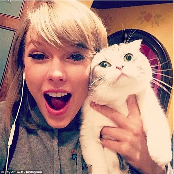 Trong lúc những đồng nghiệp cùng lứa tụ tập rượu chè, hút chích, thì Taylor Swift có thú vui rất lành mạnh và đáng yêu