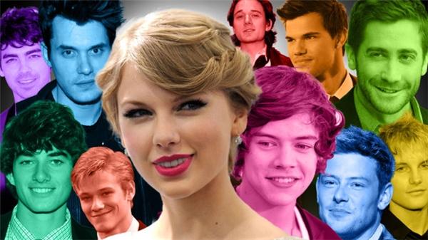 Chuyện yêu đương của Taylor Swift luôn là đề tài nhiều thị phi