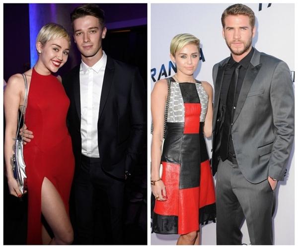 Dù là yêu nhau 5 tháng hay nhiều năm, Miley cũng ít khi nào nói xấu hay chỉ trích bạn trai cũ