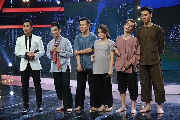 Ở tiết mục này, đội H5 nhận được 75 điểm bình chọn từ khán giả, điểm bình chọn cao nhất trong đêm thi, Thái Trinhđã rất hóm hỉnh khi bảo mình muốn đẻ luôn trên sân khấu khi đang trong vai một bà bầu.