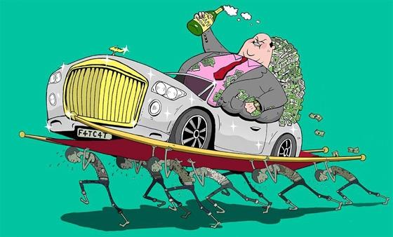 Thế giới chỉ có hai loại người: những kẻ có tiền và những kẻ làm ra nó.