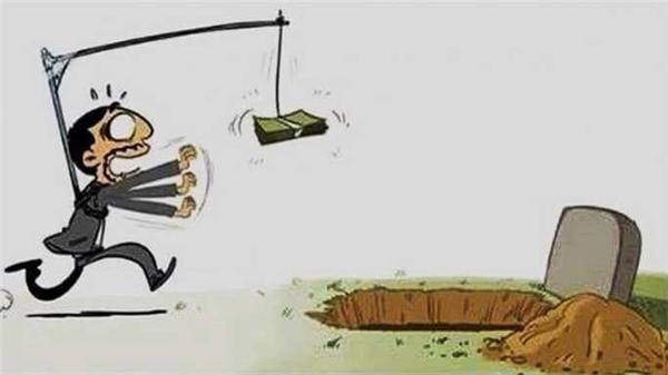 Sống mà chỉ thấy đồng tiền trước mắt thì chính là đang tự đào huyệt chôn mình.