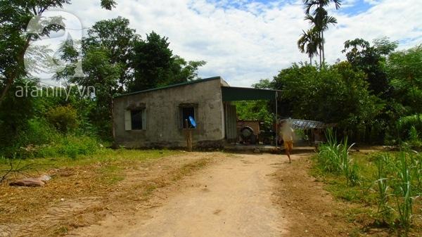 Căn nhà của mẹ con bà Hiền.