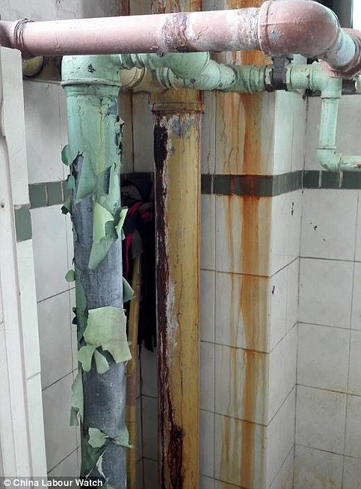 Nhà vệ sinh bẩn, nước không sạch và xuống cấp trầm trọng, mặc dù đã có những phàn nàn nhưng vẫn không hành động giải quyết.