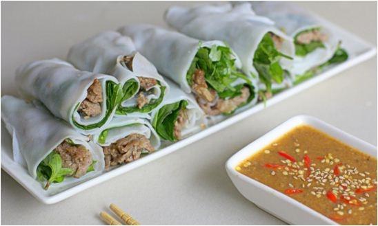 """Ẩm thực miền Trung - """"Thèm nhỏ dãi"""" với những món cuốn miền Trung"""