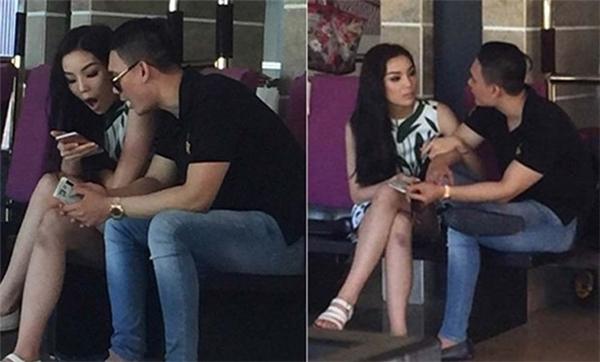 Khoảnh khắctình tứ của Hoa hậu Việt Nam 2014 và bạn trai đại giabị người hâm mộ ghi lại. - Tin sao Viet - Tin tuc sao Viet - Scandal sao Viet - Tin tuc cua Sao - Tin cua Sao