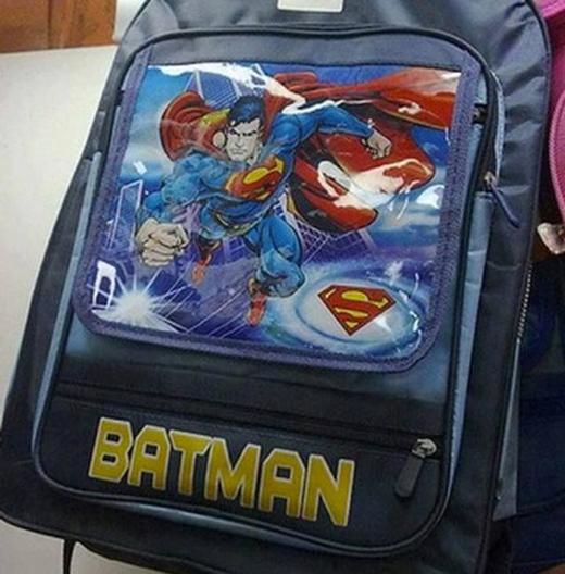 Superman từ khi nào mượn tên Batman vậy?(Ảnh: Internet)