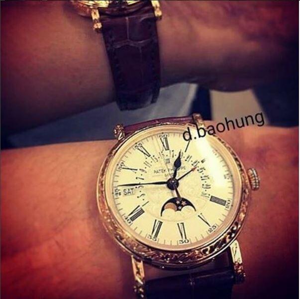 Choáng với BST đồng hồ vài chục tỉ mà bạn trai mới của Tú Anh sở hữu