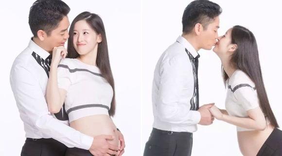 Hai vợ chồng thường xuyên đăng những tấm ảnh hạnh phúc.